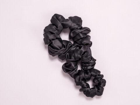 Svilene gumice za kosu, svilene srcunchie za kosu