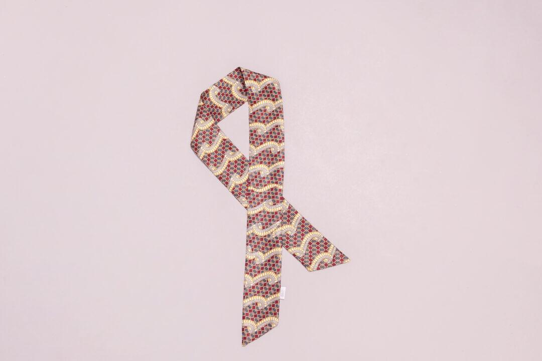 Svilena marama za kosu, svilena traka za kosu