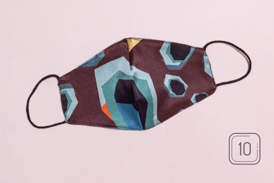 Svilena maska za lice